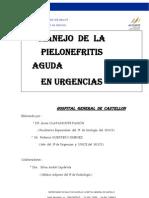 protocolo  manejo pielonefritis en urgencias