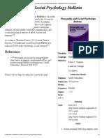 Psychology Bulletin