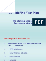 The 11th Five Year Plan - buisness environment
