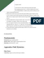Semi-Official Shadowcaster Handbook