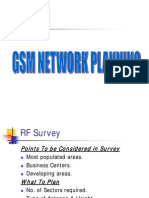 GSM network planning