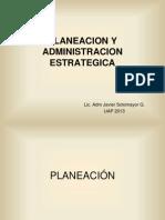 Planeacion y Adm Estrategica
