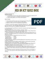 Guidelines in Quiz Bee