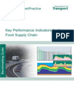 KPIs for the Food Supply Chain