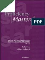 Proficiency Masterclass Exam Practice Workbook With Key