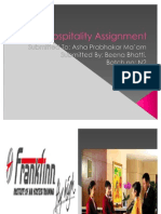 Hospitality Assignment Ppt Role Play
