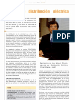 Distribucion Electrica Peru 2012