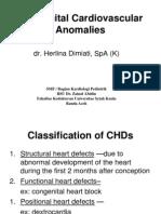 Congenital Cardiovascular Anomalies