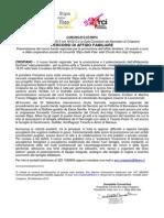 Bando AFFIDO 2013. Presentazione a Crispiano. Nota stampa