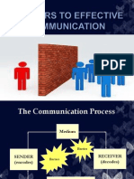 Barriers to Effective Communication-Me