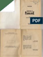 Admiterea La Psihologie-Vol 1...Cezar Ioan