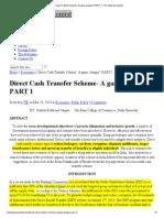 Direct Cash Transfer Scheme- A game changer_ PART 1 _ The Indian Economist.pdf