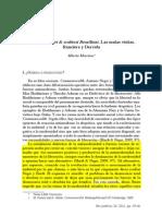 () Alberto Moreiras - Las malas visitas. Rancière y Derrida