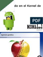 Navegando en el kernel de android / Oscar García López
