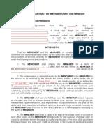 Employment Merchant Manager