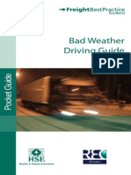 Bad Weather Driving Guide