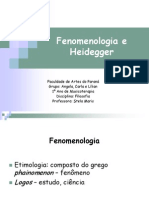 Fenomenologia e Heidegger.ppt