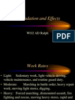 Degradation and Effects