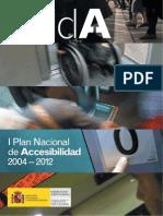Plan Accesibilidad 2004-2012