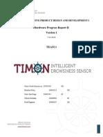 Hardware Progress Report II Team1 v1