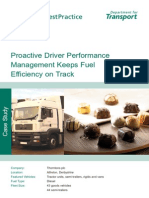 Proactive Driver Performance Management Keeps Fuel Efficiency on Track