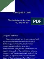 European Law Lecture