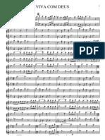 viva com deus flauta - 1º fluta