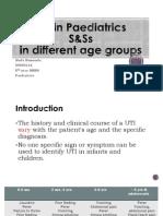 UTI in Paediatrics