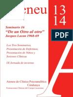 programa formaciones clínicas  Ateneu Barcelona