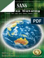 Apac 2013 Cou11rse Catalogue