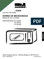 73162Kenmore Countertop Microwave Oven White 1.6 cu ft 1000 Watt 73162 1 Year Warranty