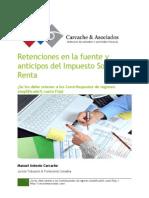 Retenciones en La Fuente y Anricipos Del Impuesto Sobre La Renta