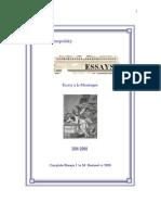 Essays à la  Montaigne (complete)