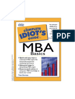 Complete Idiot s Guide to MBA Basics