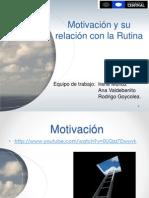 2.Motivación y Rutina T 1º