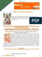Newsletter San Paolo Bari