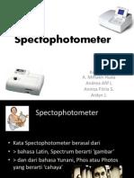Spektro FotoMeter