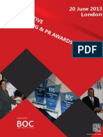 Innovative Marketing and PR Awards 2013 - Winners