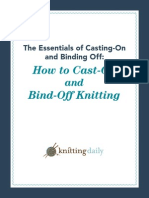 Casting on and Binding Off