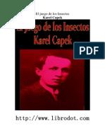Capek, Karel - El Juego de Los Insectos