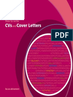 How to Write a CV or Cover Letter