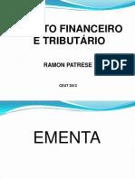 Material de Apoio 1 - Direito Financeiro e Tributario