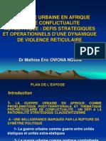 OWONA NGUINI La Guerre Urbaine en Afrique_Old1