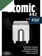 Eltax Atomic A82 Subwoofer Manual