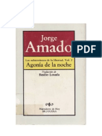 Amado Jorge - Los Subterraneos de La Libertad 02 - Agonia de La Noche