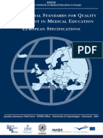 World Federation of Medical Education