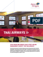 Case Study Thai Airways