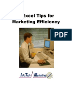 3 Excel Tips