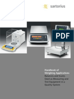 Handbook of Weighting Applications