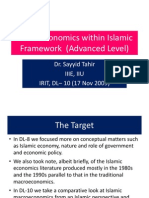 Mathematical Model of Islamic Economy